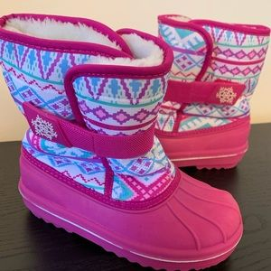 Girls Snow Boots - Children's Place - Size 1